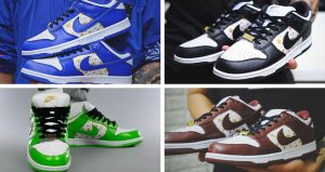 Supreme Nike SB Dunk Low Stars Pack Is Coming In Four Colorways