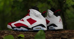 """Take A Closer Look At Air Jordan 6 """"Carmine"""" Features Nike Air On Heel After 30 Years 01"""
