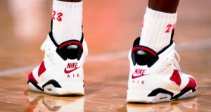 """Take A Closer Look At Air Jordan 6 """"Carmine"""" Features Nike Air On Heel After 30 Years 03"""