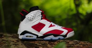 """Take A Closer Look At Air Jordan 6 """"Carmine"""" Features Nike Air On Heel After 30 Years"""