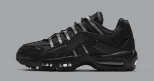 The Nike Air Max 95 NDSTRKT Is Shining In Black 01