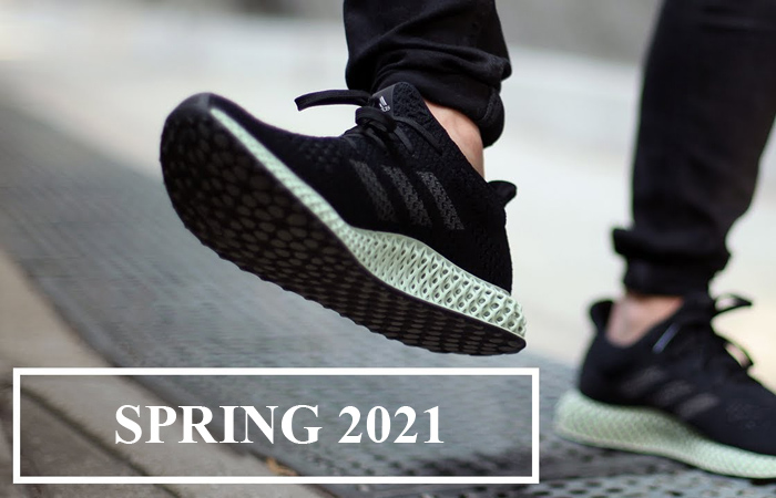The adidas Futurecraft 4D Black Green Is Coming Out In Spring 2021 ft