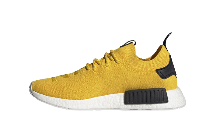 adidas NMD R1 Primeknit EQT Yellow Core Black S23749 01