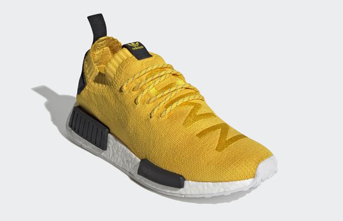 adidas NMD R1 Primeknit EQT Yellow Core Black S23749 02