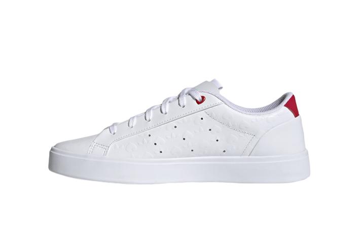 adidas Sleek Cloud White Womens FZ1829 01