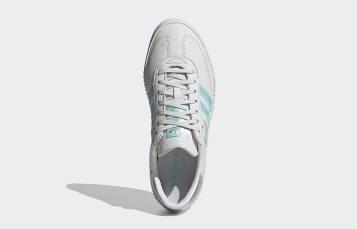 adidas Swarovski Sambarose Crystal White Aqua Womens GZ8618 04