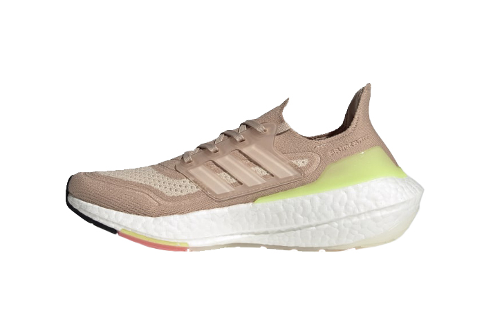 adidas Ultra Boost 21 Ash Pearl White Womens FY0399 01