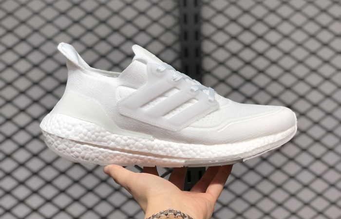 adidas Ultra Boost 21 Cloud White FY0379 02