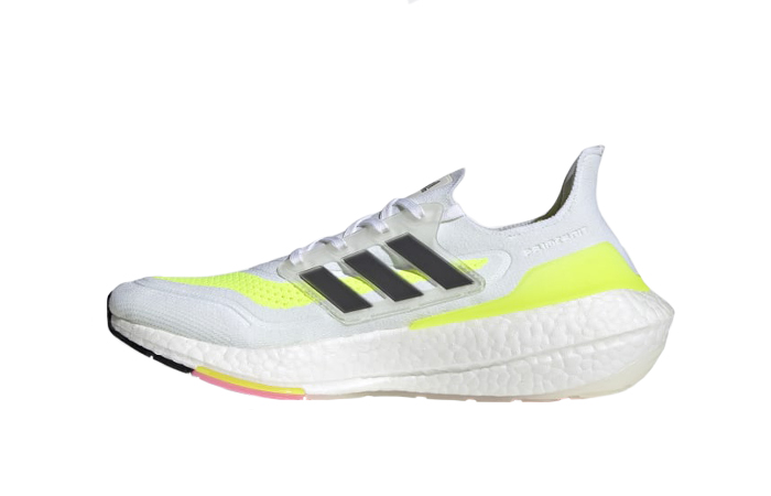 adidas Ultra Boost 21 Cloud White Solar Yellow FY0377 01