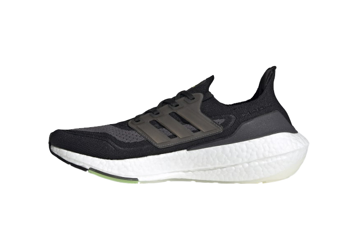 adidas Ultra Boost 21 Core Black Metallic Silver FY0374 01