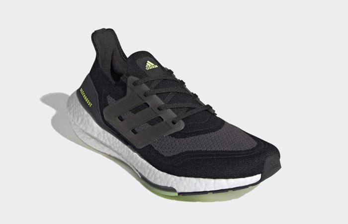 adidas Ultra Boost 21 Core Black Metallic Silver FY0374 02