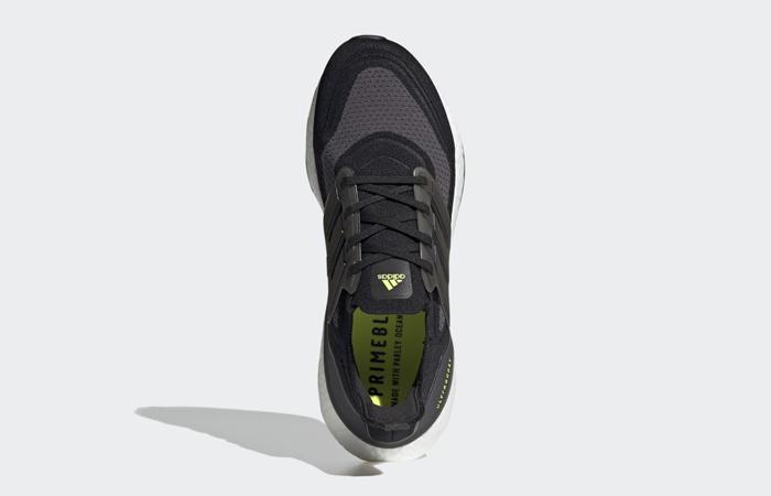 adidas Ultra Boost 21 Core Black Metallic Silver FY0374 04