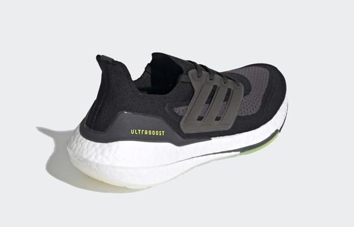 adidas Ultra Boost 21 Core Black Metallic Silver FY0374 05