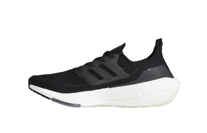 adidas Ultra Boost 21 Core Black White FY0378 01