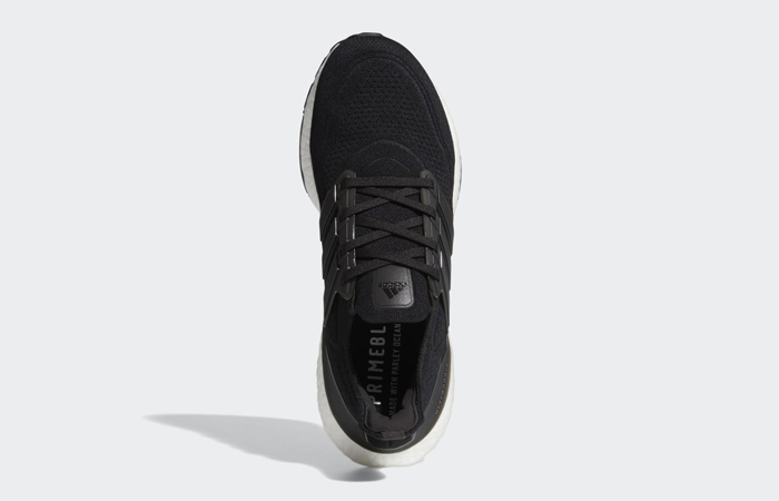 adidas Ultra Boost 21 Core Black White FY0378 04