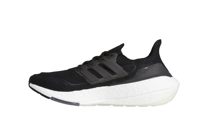 adidas Ultra Boost 21 Core Black White Womens FY0402 01