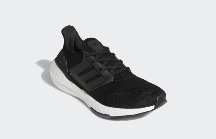 adidas Ultra Boost 21 Core Black White Womens FY0402 02