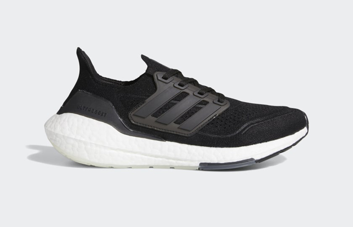 adidas Ultra Boost 21 Core Black White Womens FY0402 03