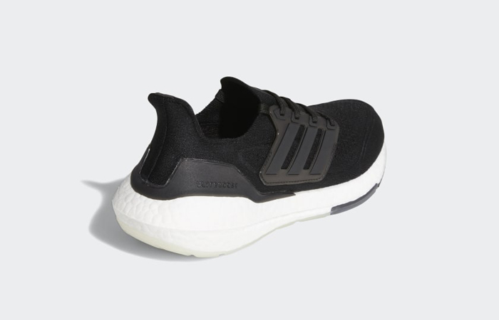 adidas Ultra Boost 21 Core Black White Womens FY0402 05