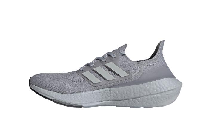 adidas Ultra Boost 21 Halo Silver Grey FY0432 01