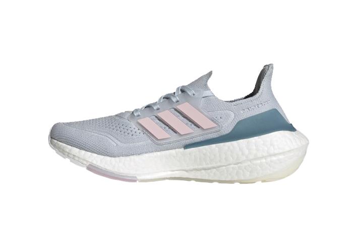 adidas Ultra Boost 21 Hazy Blue Fresh Candy Womens FY0395 01