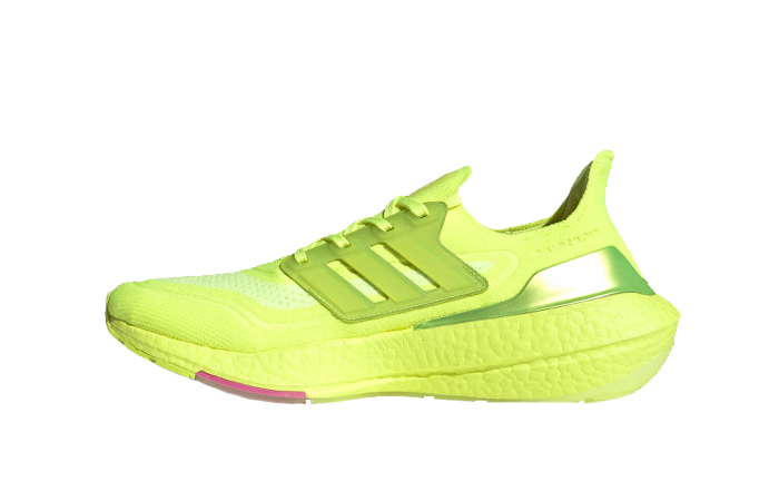 adidas Ultra Boost 21 Solar Yellow Pink FY0848 01