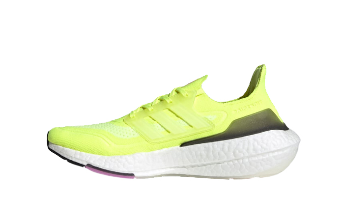 adidas Ultra Boost 21 Solar Yellow White FY0373 01