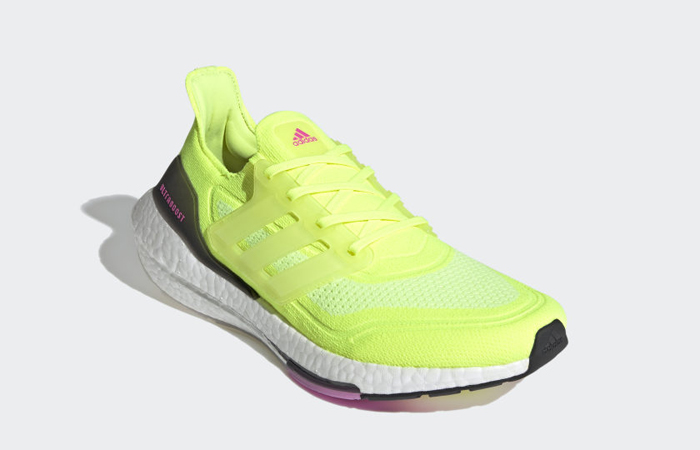 adidas Ultra Boost 21 Solar Yellow White FY0373 02