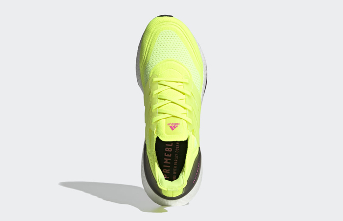 adidas Ultra Boost 21 Solar Yellow White FY0373 04