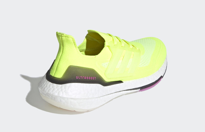 adidas Ultra Boost 21 Solar Yellow White FY0373 05