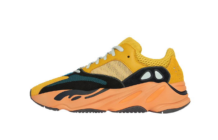 adidas Yeezy Boost 700 V1 Sun Yellow Orange GZ6984 01