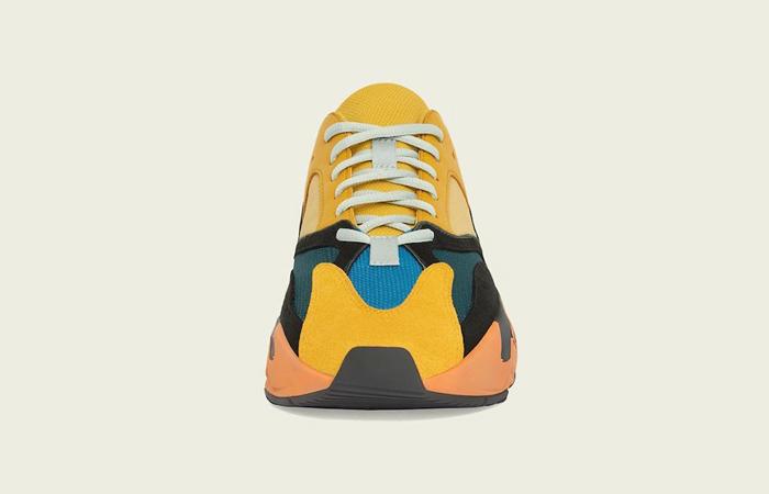adidas Yeezy Boost 700 V1 Sun Yellow Orange GZ6984 02