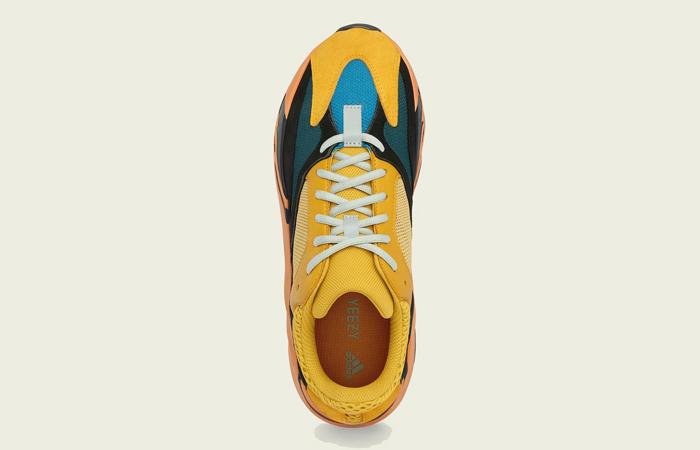 adidas Yeezy Boost 700 V1 Sun Yellow Orange GZ6984 04