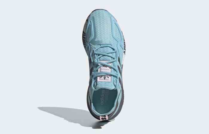 adidas ZX 2K Boost Hazy Sky Grey Womens FX7057 04