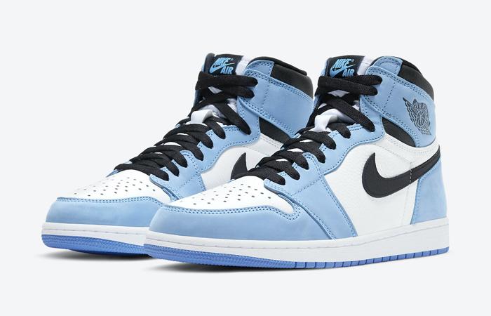Air Jordan 1 High Black University Blue 555088-134 02