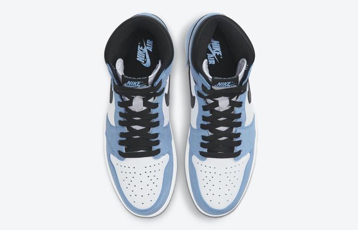 Air Jordan 1 High Black University Blue 555088-134 04
