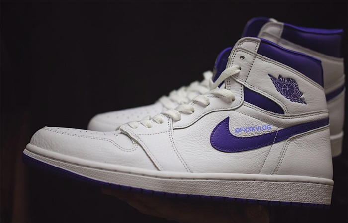 Air Jordan 1 High White Court Purple Womens CD0461-151 02