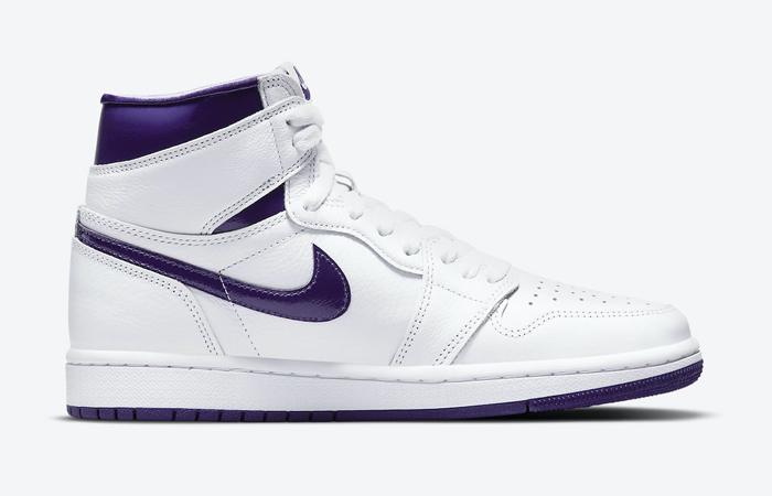 Air Jordan 1 High White Court Purple Womens CD0461-151 06
