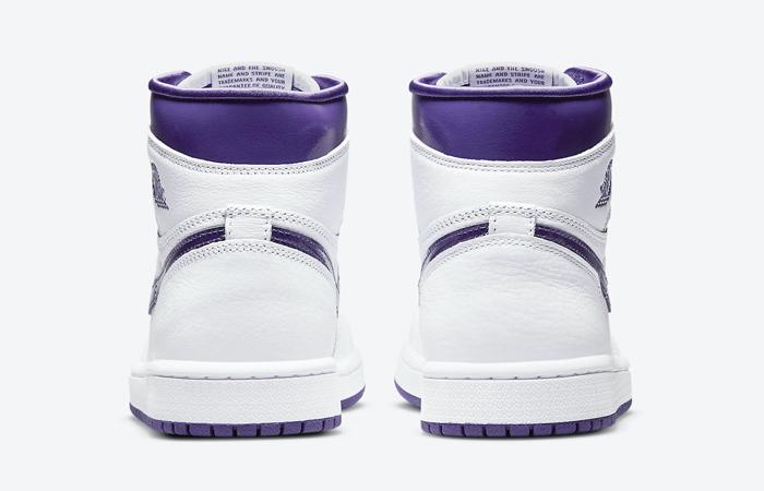 Air Jordan 1 High White Court Purple Womens CD0461-151 08