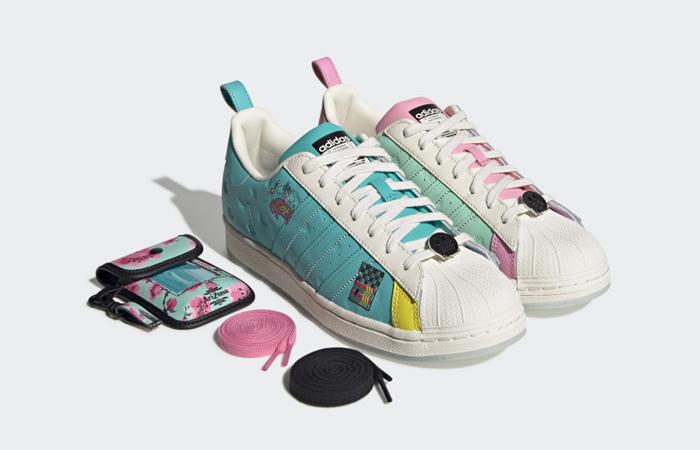 AriZona Iced Tea adidas Superstar Chalk White Multi GZ2861 02