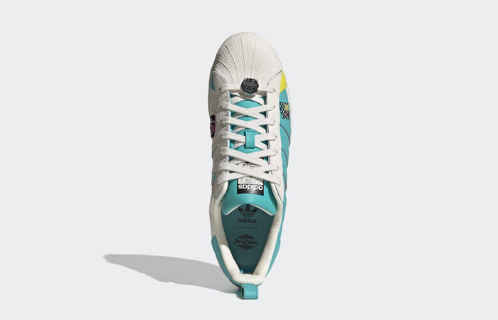 AriZona Iced Tea adidas Superstar Chalk White Multi GZ2861 04