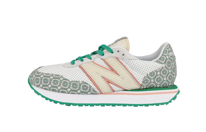 Casablanca New Balance 237 White Jacquard MS237CBA 01