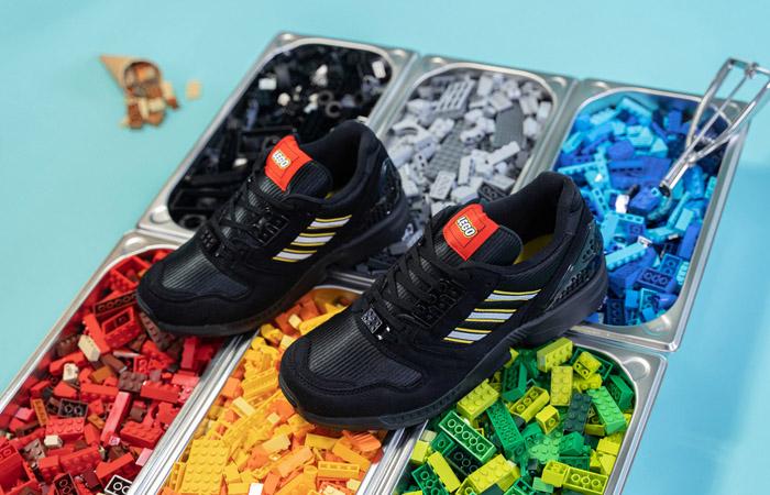 LEGO adidas ZX 8000 Black White FY7085 06