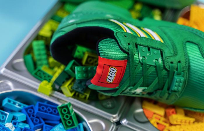 LEGO adidas ZX 8000 Green White FY7082 08