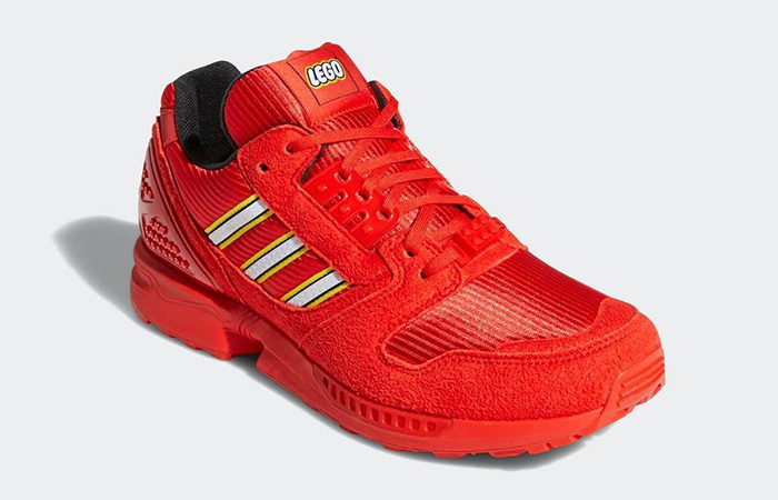 Lego adidas ZX 8000 Red White FY7084 02
