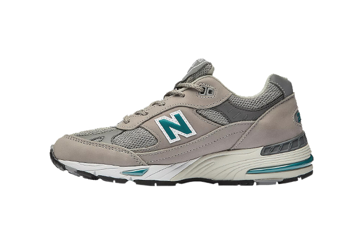 New Balance 991 Grey Enamel Blue Womens W991ANI 01