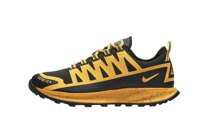 Nike ACG Air Nasu Gore-Tex Black Laser Orange CW6020-001 01