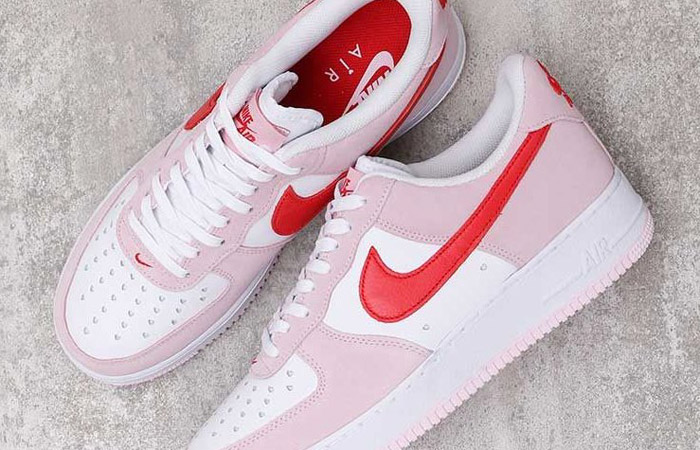 Nike Air Force 1 07 Low Valentines Day Tulip Pink DD3384-600 03