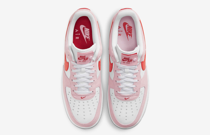 Nike Air Force 1 07 Low Valentines Day Tulip Pink DD3384-600 06