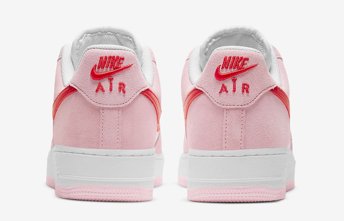 Nike Air Force 1 07 Low Valentines Day Tulip Pink DD3384-600 07